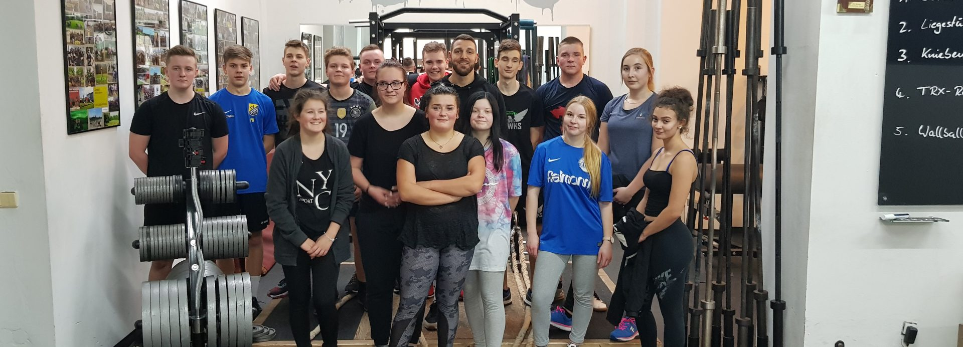Sporttag im Headquarter des City-Bootcamps Leipzig