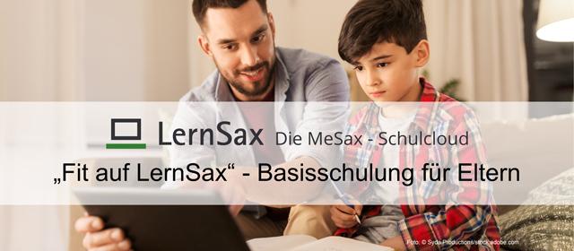 LernSax Elternkurs jetzt für alle Eltern frei abrufbar